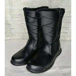 Totes Black Winter Boots Wmns SZ 7